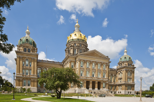 Iowa State Capitol Building Images