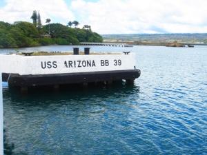 USS Arizona - Pearl Harbour