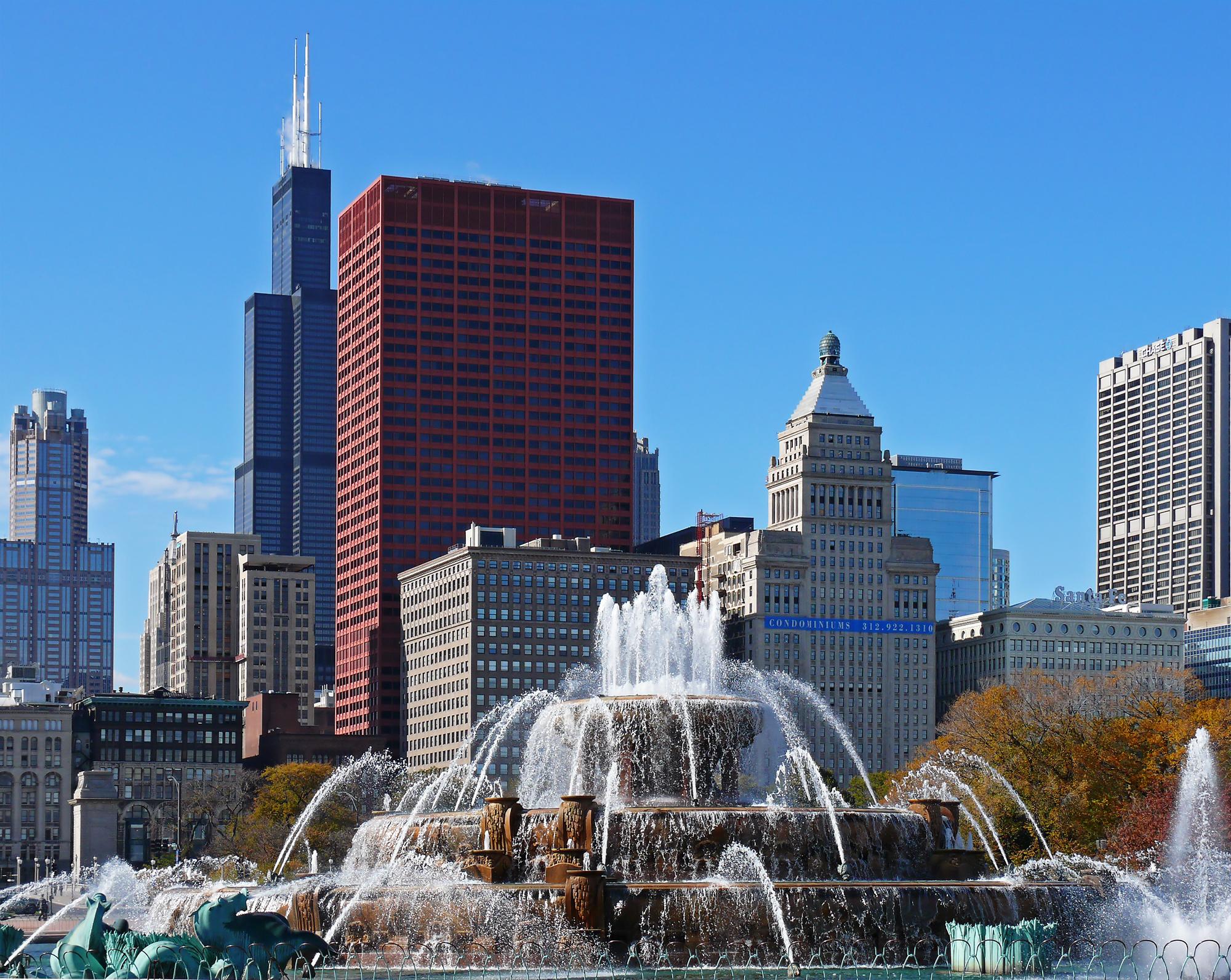 buckingham fountain chicago - photo #29