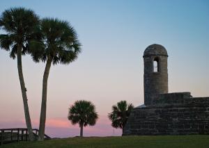 Castillo de San Marcos Fort.