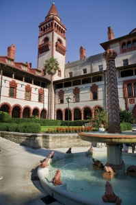 Tours of Flagler College, the former Ponce de Leon Hotel built by Henry Flagler in 1888, are conducted daily. Photo courtesy of FloridasHistoricCoast.com