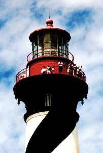 Climb the 219 steps to the top of St. Augustine Lighthouse.