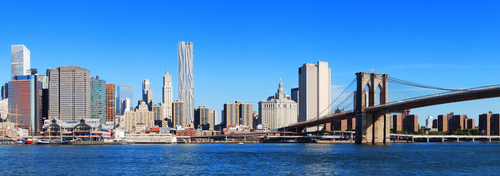 New York Skyline - Brooklyn Bridge