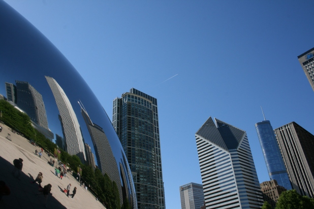 Edge of The Bean. Measurements are 33x66x42 feet. Image: Jason Dutton-Smith