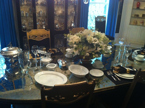 Graceland dining room - Photo credit Jason Dutton-Smith