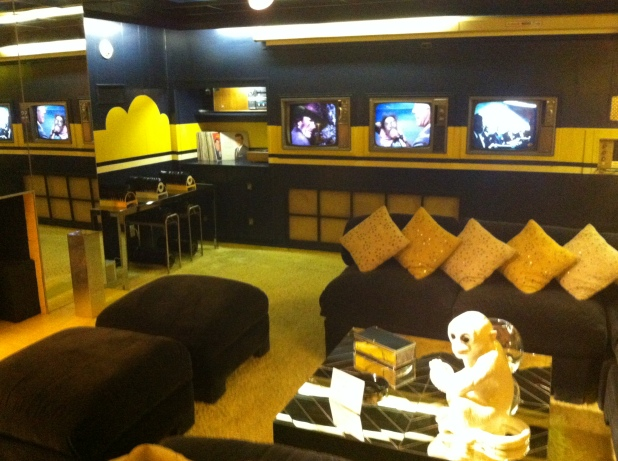 Graceland TV room - Photo credit Jason Dutton-Smith