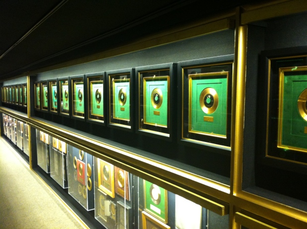 One of countless Gold Record awards lining the hallways - Photo credit Jason Dutton-Smith