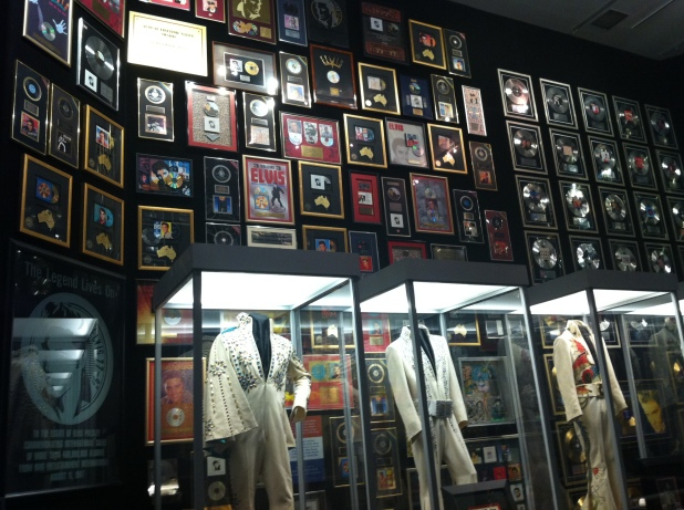 Graceland memorabilia room - Photo credit Jason Dutton-Smith