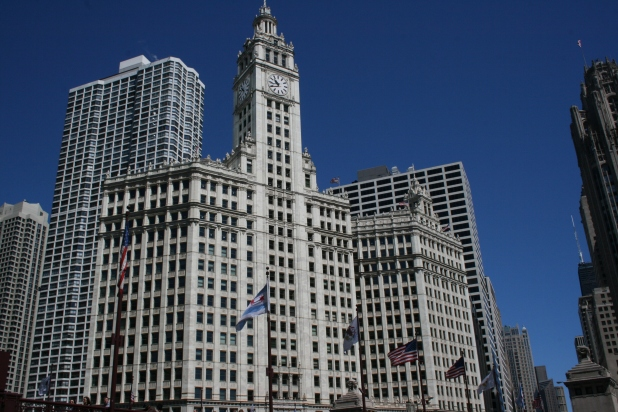 Wrigley Building on Michigan Ave - Photo Credit Jason Dutton-Smith