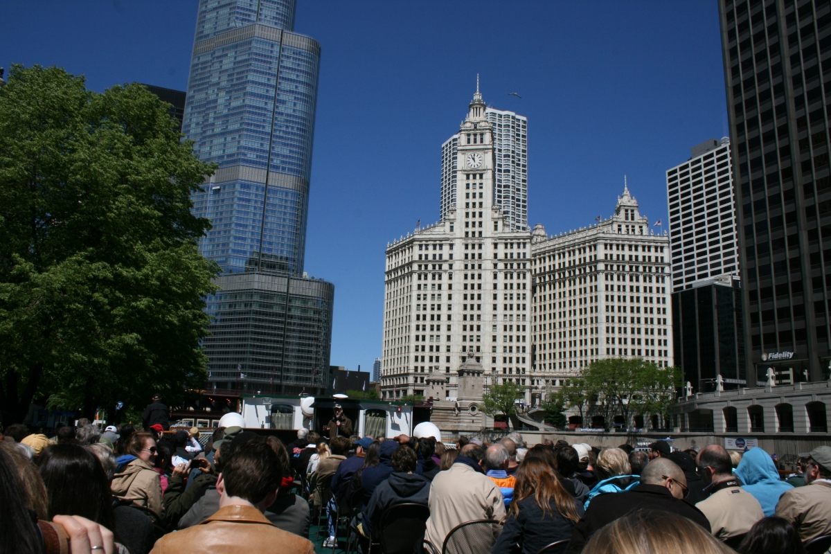 Picture Review of Chicago River Architecture Cruise