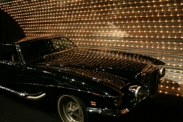 One of the many cars on display at Graceland - Photo credit Jason Dutton-Smith