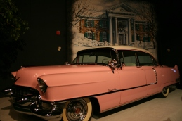 The infamous Pink Cadillac Elvis gave to his Mother - Photo credit Jason Dutton-Smith