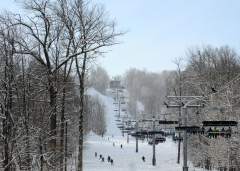 Rib Mountain Ski Fields, Wausau Wisconsin