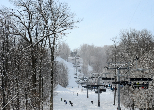 Rib Mountain Ski Fields - Image courtesy of Granite Peak Ski Area