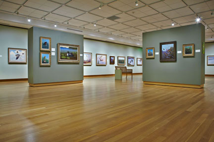Wausau Gromme Gallery - Image courtesy of Woodson Art Museum