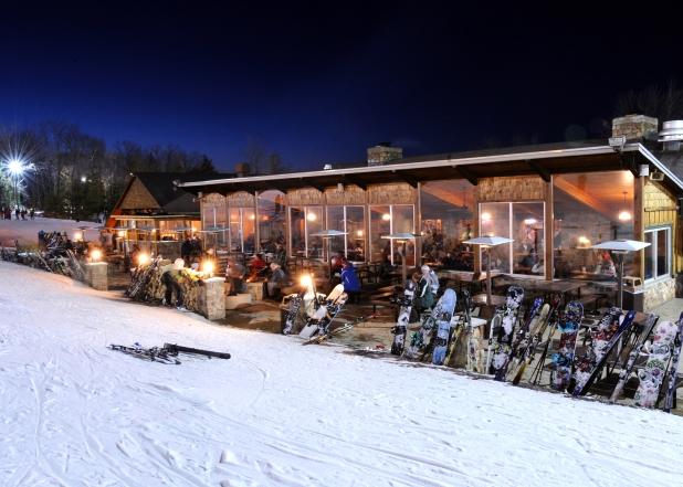 Granite Peak Ski Area Night Skiing - Rib Mountain State Park - Image courtesy of Granite Peak