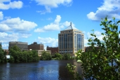 Downtown Wausau - River Edge Trail