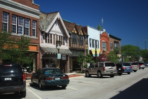 Wausau Third Street River District - Image courtesy of Wausau Convention and Visitors Bureau