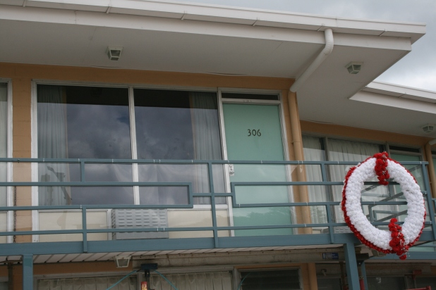 Room 306 - Martin Luther King room at the Lorraine Motel