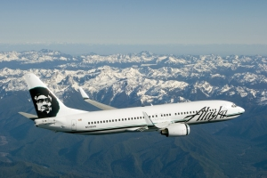 Alaska Airlines in-flight