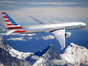 American Airlines in-flight