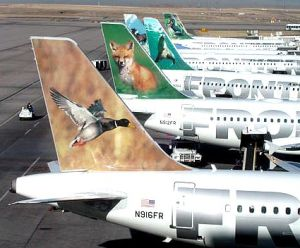 Frontier Airlines animal tails