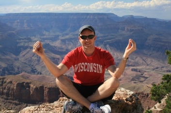 Grand Canyon - Quite meditation on top of God's natural wonder.