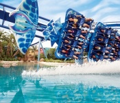 Manta® flying roller coaster at SeaWorld® Orlando