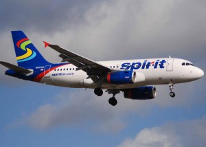 Spirit Airlines in-flight
