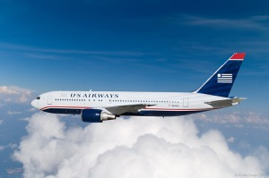 US Airways in-flight