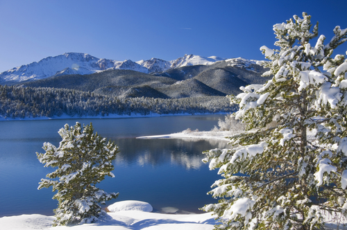 Aspen Colorado is a Christmas winter wonderland.