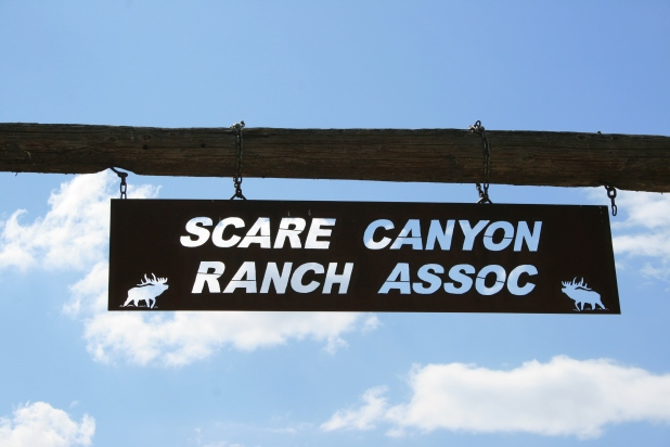 Welcome to Scare Canyon. Really not that scary after all.