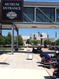 The Harley Davidson Museum - an iconic brand revealed.