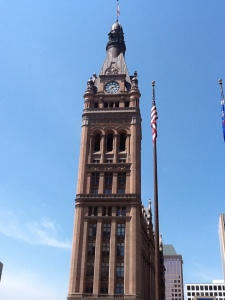 Milwaukee City Hall - one of Milwaukee's Gothic treasures.