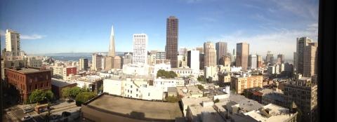 San Francisco City Panorama Views