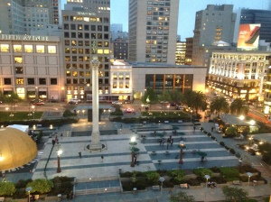Union Square Ariel View