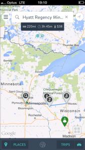 Roadtripper Route Map