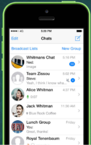 Whatsapp Friends Chat List
