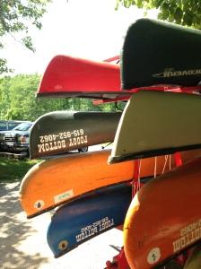 Foggy Bottom canoe and kayaks.
