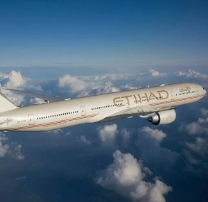Etihad 777 aircraft (-300 series pictured)