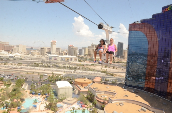 Las Vegas Hottest New Thrill Ride Voodoo Zipline More Than Route 66 Airline And Travel Stories