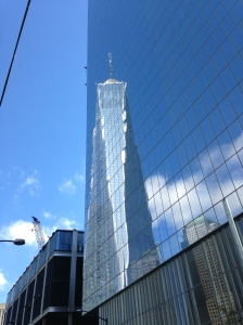 World Trade Centre reflection