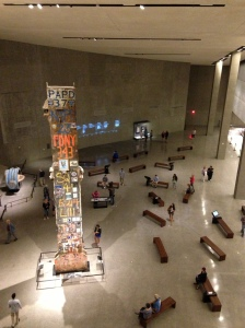 Museum overview from top level