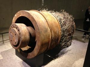 WTC elevator motor
