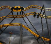Batman Rollercoaster - Six Flags Fiesta San Antonio, Texas