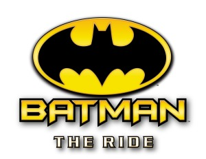 Batman The Ride Logo - Six Flags Fiesta San Antonio, Texas
