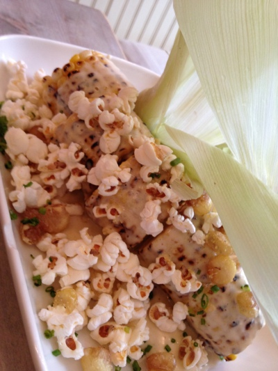 Grilled sweet corn cob - Root and Bone - Image copyright Jason Dutton-Smith