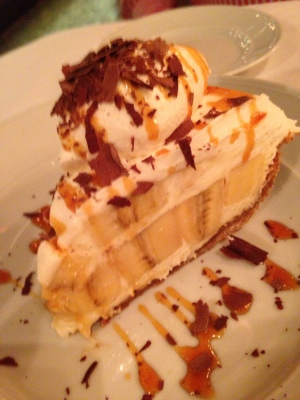 The Redeye Grill famous Banana Cream Pie - Image copyright Jason Dutton-Smith