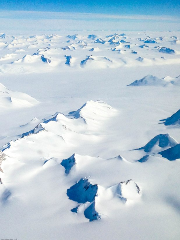 Only 2% of Antarctica is not covered in snow or ice.