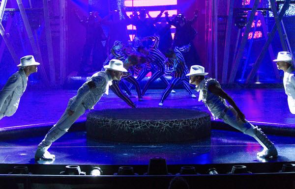Cirque du Soleil Michael Jackson ONE - Photo credit: Aaron Felske